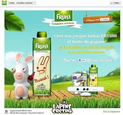 Fruiss mise sur les Lapins Crétins pour recruter des clients | Mass marketing innovations | Scoop.it
