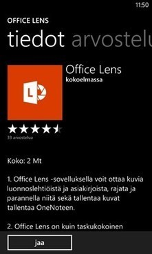 Lumia ja Office Lens: parempi skanneri « Windows 8 yrityksille | Windows-tabletit kouluihin | Scoop.it