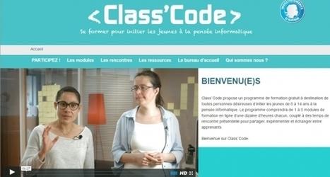 Class'Code, la pensée informatique à portée de prof | Technologie, innovation, recherche | Scoop.it