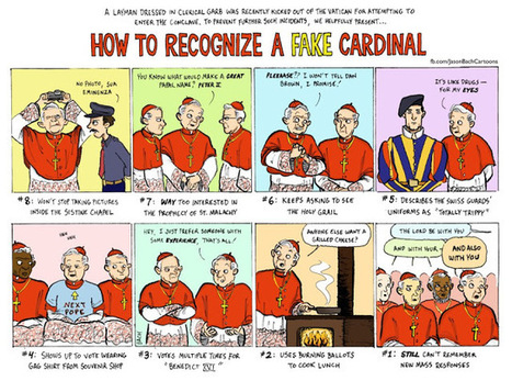 "The Ironic Catholic: ""How To Recognize A Fake Cardinal"" 