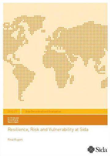 Resilience, Risk and Vulnerability at Sida | International aid trends from a Belgian perspective | Scoop.it