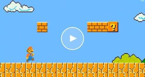 Realistic Mario: Brick block   The Tech Block   Vàl's scoopit   Scoop.it