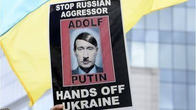 HILARIOUS » BBC DYSLEXIA « Ukrainian NeoNAZI Govt & the Hitler is Putin. Crimea seen as 'Hitler-style' grab | Saif al Islam | Scoop.it