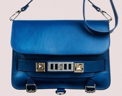 Latest Obsession: Proenza Schouler spring bags in Peacock Blue | TAFT: Trends And Fashion Timeline | Scoop.it