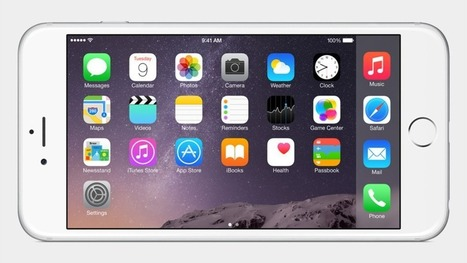 Apple Announces iPhone 6 Plus, the First iPhone Phablet | Cloud Services | Scoop.it