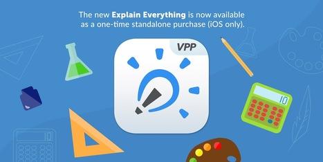Explain Everything VPP – New iOS App in Store, via @wagjuer | Medienbildung | Scoop.it