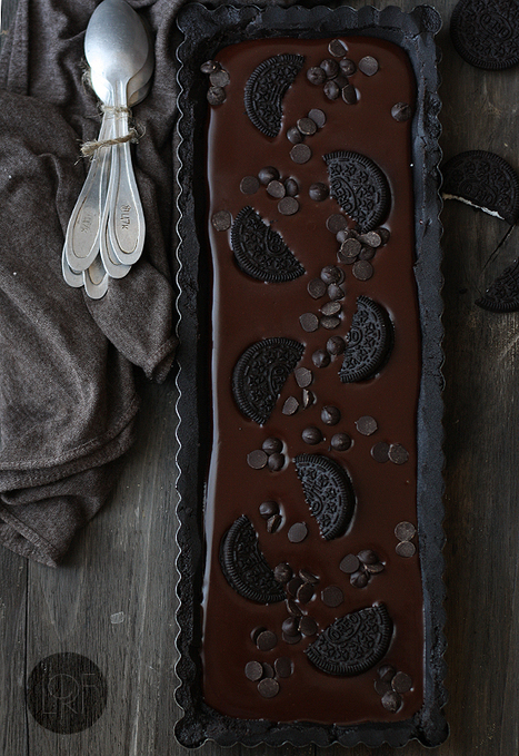 #Recipe - No bake chocolate oreo tart | What's In The Oven? | Scoop.it