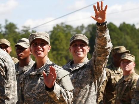 When Women Lead Soldiers Into Battle: The Age of the Female Combat Officer Is Coming   Géopolitique des Amériques   Scoop.it