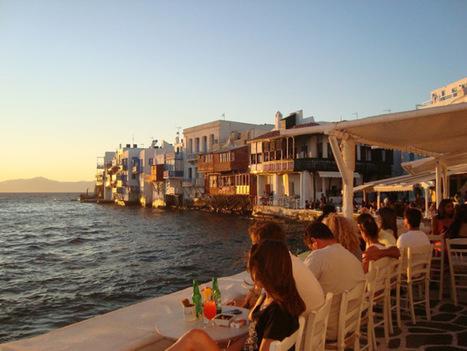 The most beautiful sunset... Mykonos | Travel To Mykonos | Scoop.it