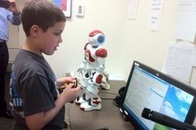Robot Aids in Therapy for Autistic Children - Wall Street Journal- India   Autism Spectrum Disorder, Education, Employment and Technology   Scoop.it