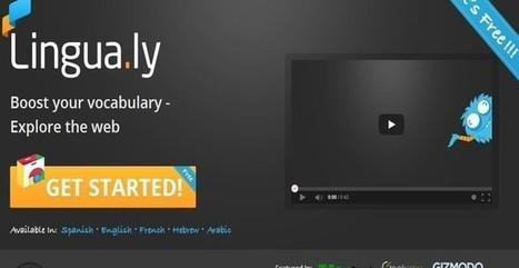 Lingua.ly, aprende idiomas gratis y fácilmente mientras navegas la web | Technology and language learning | Scoop.it