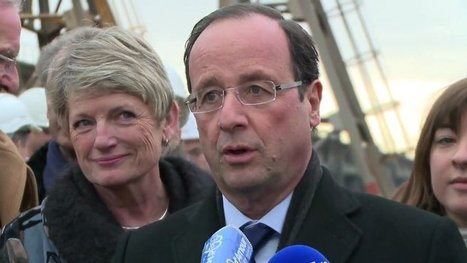 "François Hollande : ""Je serai le président du redressement productif et industriel"" 