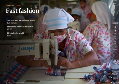 The shirt on your back: the human cost of the Bangladeshi garment industry | Interactive & Immersive Journalism | Scoop.it