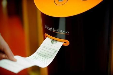 Grenoble: des distributeurs d'histoires courtes pour des temps d'attente moins longs | Yahoo Actualités | Céline veille doc' | Scoop.it