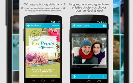 Free Prints : application pour imprimer vos photos gratuitement | Outils 2.0 | Scoop.it