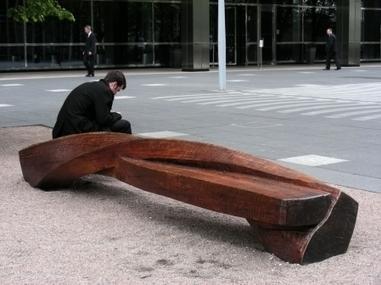 Comment renouveler le banc public   mobilier urbain   Scoop.it