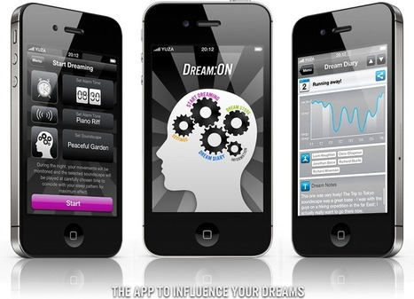 Dream:ON - The App to Influence Your Dreams | mrpbps iDevices | Scoop.it