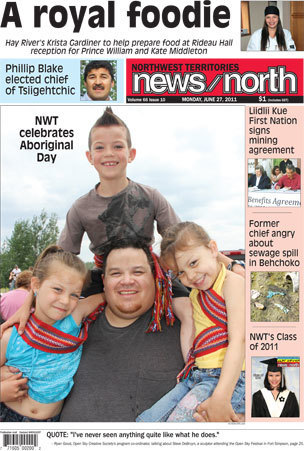 Headlines for NWT News North for June 27th 2011   Inuit Nunangat Stories   Scoop.it