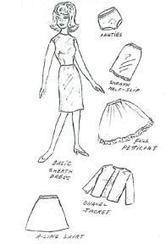 Frugal Abundance- Free Doll Clothes Patterns | Playscale Picks | Scoop.it