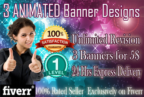 zimron89 : I will design 3 ANIMATED Advertising Banners for $5 on www.fiverr.com | Benifits of Animated Banner Advertising | Scoop.it