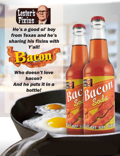 Soda Maker Puts Bacon, Buffalo Wings in a Bottle | Strange days indeed... | Scoop.it