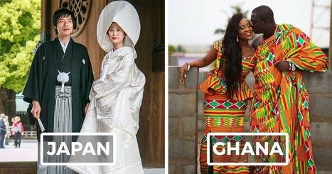 15 Traditional Wedding Outfits From Around The World | Religion och kultur i KG | Scoop.it