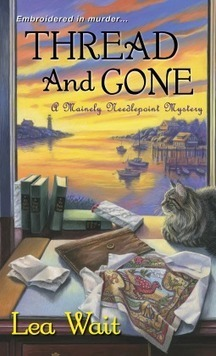 Thread and Gone by Lea Wait - Mainely Needlepoint Mystery | Kindle Book reviews | Scoop.it