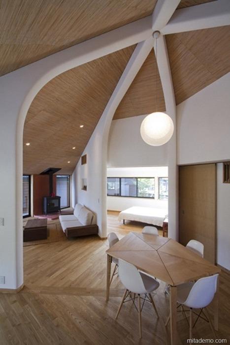 Japanese House Plans   Modern Japanese Architecture   HARRY.RATOMAHENINA   Scoop.it