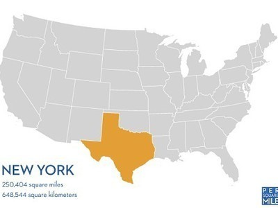 At NYC's Density, the World's Population Could Live in Texas | Thinking Geographically | Scoop.it