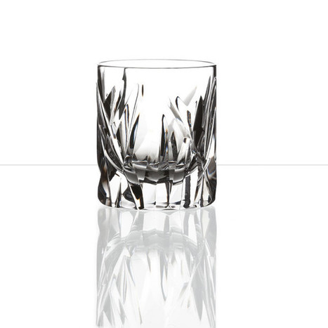 The considered design of whisky glasses | Coloured Crystal | Scoop.it
