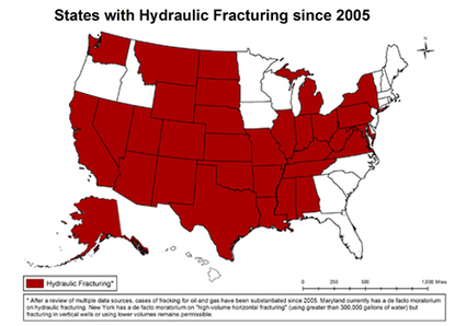 Do You Live in One of the 32 States That Has Been Fracked? | EcoWatch | Scoop.it