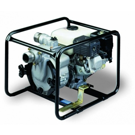 "Tsurumi Gas Engine Trash Pump 5.5 H.P. 2"" discharge 