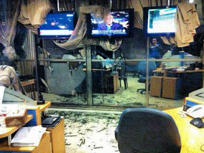 Al Jazeera's Cairo bureau firebombed by Egyptian protesters (VIDEO) | MN News Hound | Scoop.it