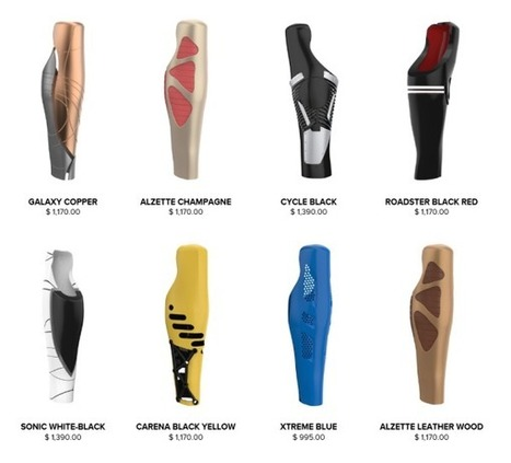 3ders.org - UNYQ's 3D-printed covers make prosthetics modern and stylish | 3D Printer News & 3D Printing News | 3D Printed Prosthetic Fairings | Scoop.it