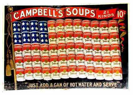 Antique Campbell's Soup advertisng tin sign expected to reach $40,000-$60,000 | Antiques & Vintage Collectibles | Scoop.it