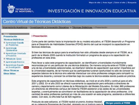 .:: Tecnicas Didacticas ::. | Herramientas tecnológicas | Scoop.it
