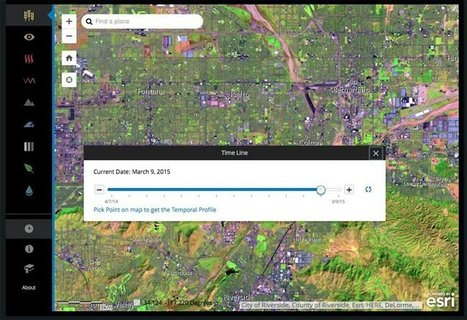 Landsat 8 Satellite Imagery Available for Free Via Amazon Web Services - GIS Lounge | GEOINT | Scoop.it