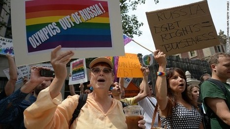 Gay rights campaigners petition IOC over Russia's Sochi Olympics | Daily Crew | Scoop.it