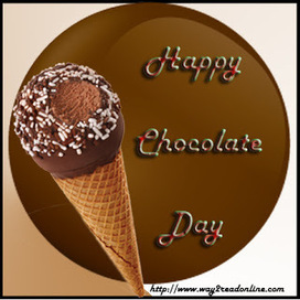 Happy Chocolate Day SMS 2013 Wishes, Chocolate Day 2013 Wallpapers Greetings | Festivals Wishes | Scoop.it