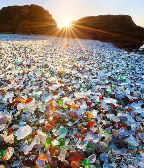 Twitter / PicturesEarth: Glass Beach, Fort Bragg, ... | glass awards | Scoop.it