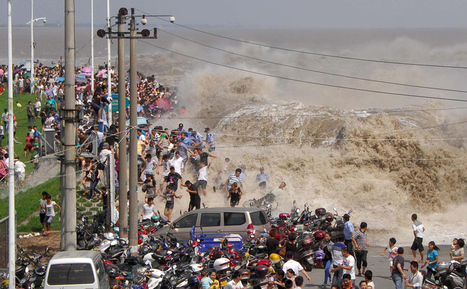 The Tidal Waves of the Qiantang River | Geography Education | Scoop.it
