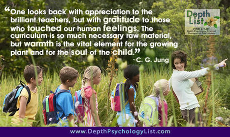"C.G. Jung: ""Warmth is the Vital Element for the Soul of the Child"" 