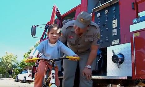 Como os bombeiros de Santa Rosa (RS) ajudaram a salvar o Dia das Crianças desse garotinho | Edutenimento | Scoop.it