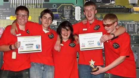 Passion for robotics | ABC Open Northern Tasmania | Scoop.it