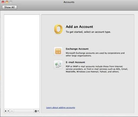 How to Set-up Outlook for Mac 2011 Using Exchange Server | Mac Outlook 2011 Solutions | Scoop.it