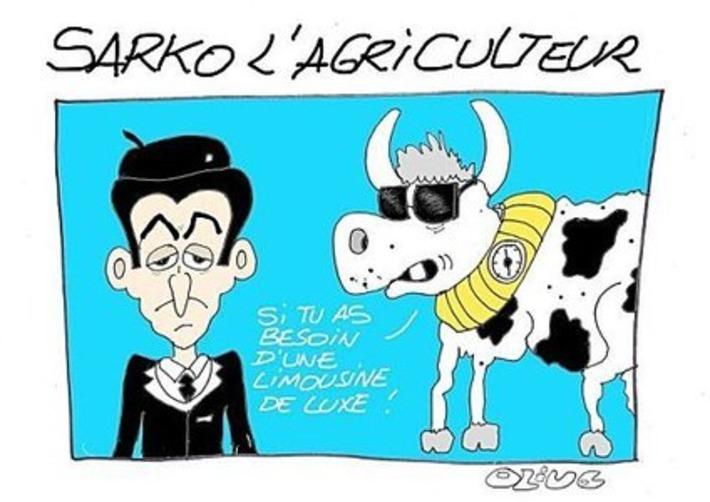 Sarkozy l'agriculteur | Baie d'humour | Scoop.it