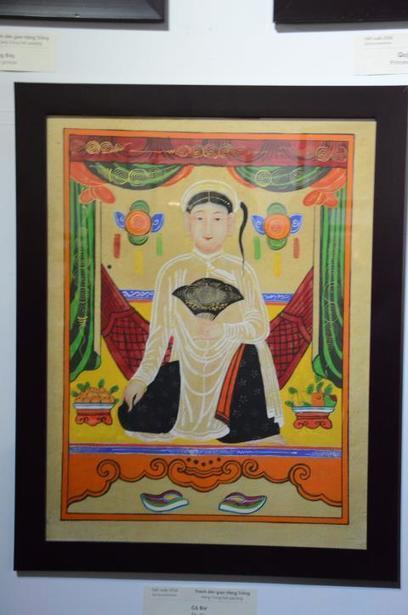 Vietnam's folk paintings on display in Hanoi Old Quarter | VietNamNet | Kiosque du monde : Asie | Scoop.it