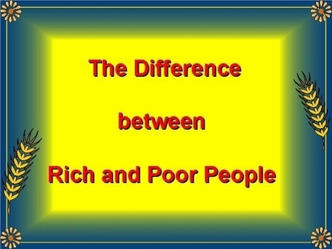 Are You Rich or Poor? | | Focus Society Mastermind | Scoop.it
