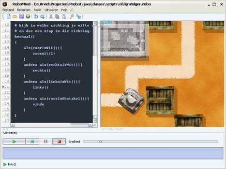 RoboMind: een educatieve programmeeromgeving » Manssen.nl   Leren met ICT   Scoop.it