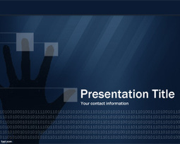 Technology Security PowerPoint Template | cake shop | Scoop.it